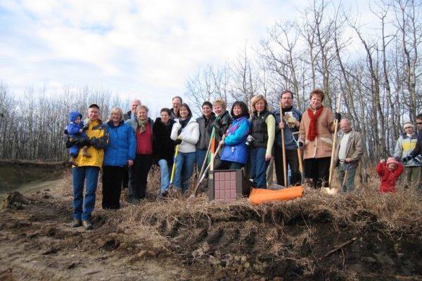 Ground Breaking November 2005