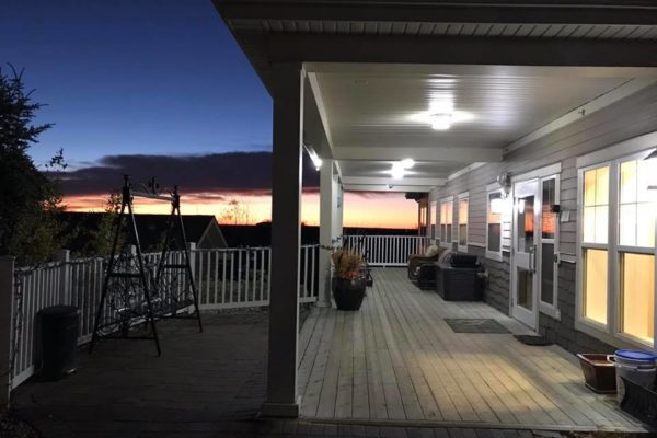 Hospice sunset