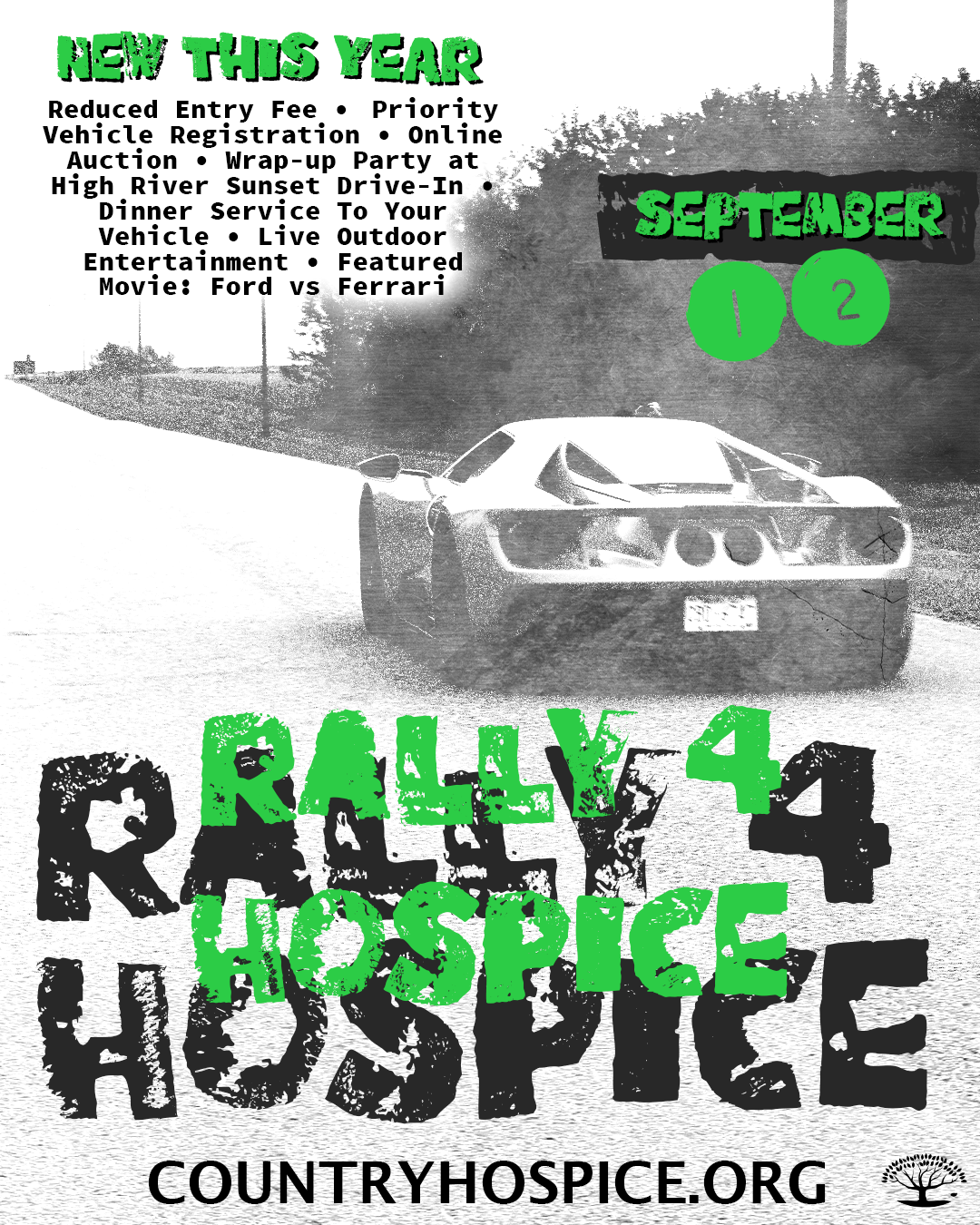 Join Us For Rally4Hospice September 12, 2020